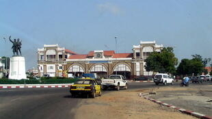 The Dakar railway station