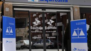 Un bureau d'Equitalia, le service du fisc italien.