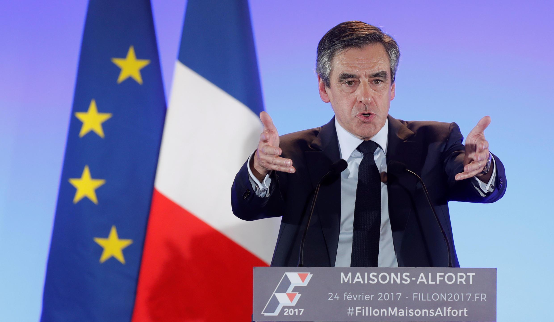 François Fillon, candidato presidencial