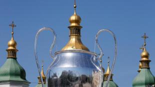 Украинская столица впервые принимает финал Лиги чемпионов УЕФА.