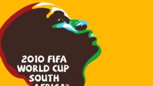 L'affiche de la Coupe du monde 2010 en Afrique du Sud.