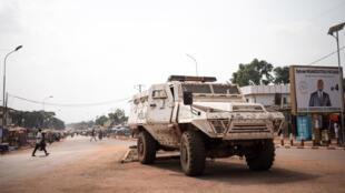 La base de la Minusca dans le nord de Bangui s'est fait attaquer par les groupes armés rebelles, ce 13 janvier 2021 (Image d'illustration).