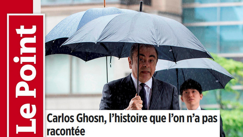 Revista Le Point retraça a trajetória do ex-presidente da aliança Renault-Nissan-Mitsubishi, Carlos Ghosn.