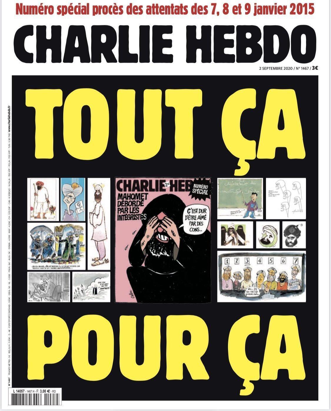 Portada Charlie Hebdo.