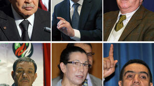 Các ứng cử viên Abdelaziz Bouteflika, Ali Benflis, Rebaïne Fewzi : Một nửa cử tri tẩy chay và đối lập phản đối cuộc bầu cử  - AFP PHOTO /DSK
