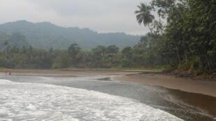 Distrito de Cauê, no sul da ilha de São Tomé.