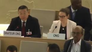 杨建利发言数度被中方打断