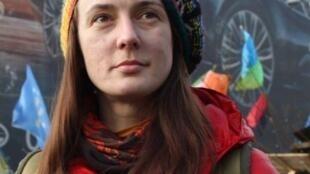 Активист Майдана Богдана Бабич