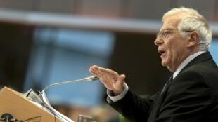جوزپ بورل مسئول سیاست خارجی اتحادیۀ اروپا