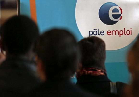 Many unskilled workers in France end up at Pole Emploi, the French unemployment office, looking for work.