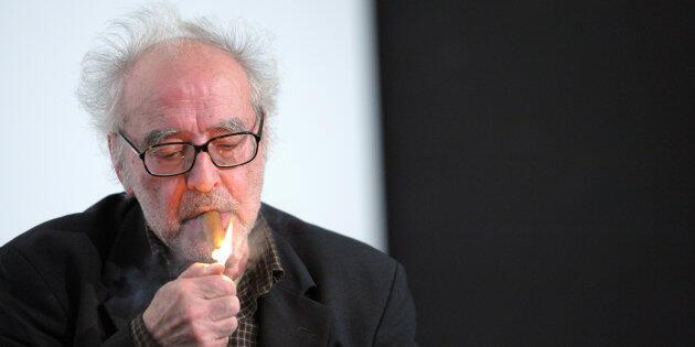 ژان لوک گدار، کارگردان سرشناس سینمای موج نوی فرانسه - تصویر آرشیوی