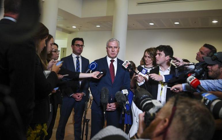 澳大利亞副總理麥考馬克資料圖片