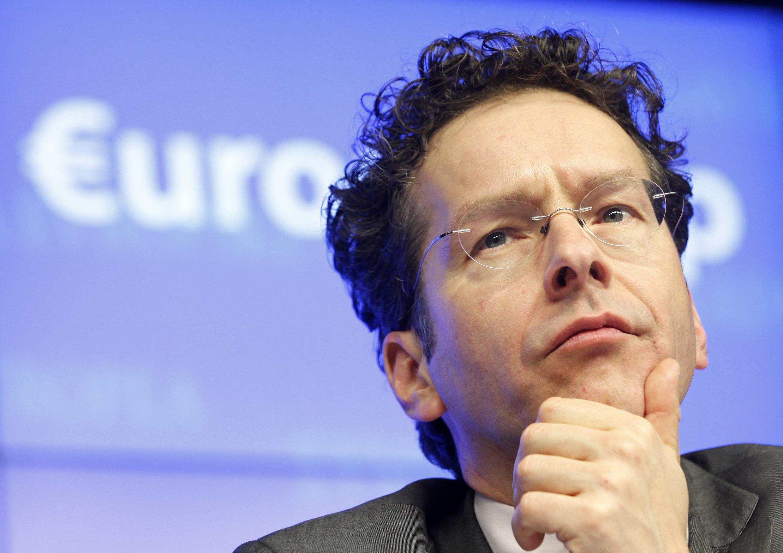 Le président de l'Eurogroupe, Jeroen Dijsselbloem, à  Bruxelles, le 25 mars 2013.