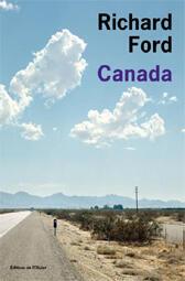 """La couverture du livre """"Canada"""" de Richard Ford qui a reçu le prix Femina étranger 2013."""