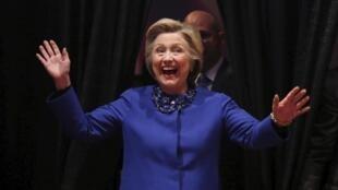Ứng viên đảng Dân Chủ Hillary Clinton vận động tranh cử tại Wilmington, bang Delaware (Mỹ), nơi bà sở hữu một công ty, ngày 25/04/2016.