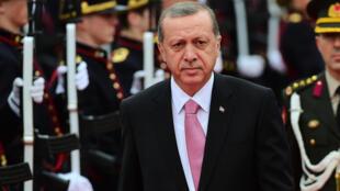 Recep Tayyip Erdogan, à Bruxelles, le 5 octobre 2015.