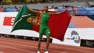 Nelson Évora, campeão europeu do triplo salto