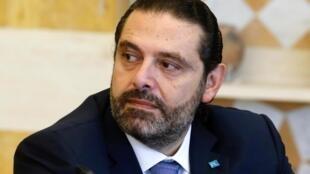 Tsohon Fira Ministan Lebanon da yayi murabus Saad Hariri.
