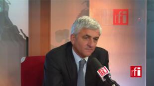 Hervé Morin, député UDI de l'Eure, ancien ministre de la Défense, président du Nouveau centre et du Conseil national de l'UDI.