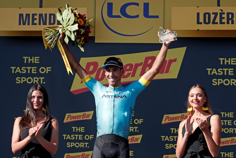 Испанец Омар Фраиле посвятил свою победу на 14-м этапе Казахстану и погибшему фигуристу Денису Тену