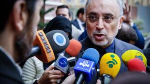 علی اکبرصالحی- رئیس سازمان انرژی اتمی جمهوری اسلامی ایران