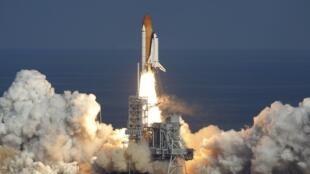 Lancement de la navette spatiale Atlantis, le 16 novembre 2009.