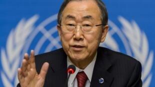 بان کی-مون، دبیر کل سازمان ملل