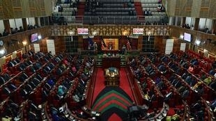 Kenyan parliament in Nairobi, 26 March 2015.