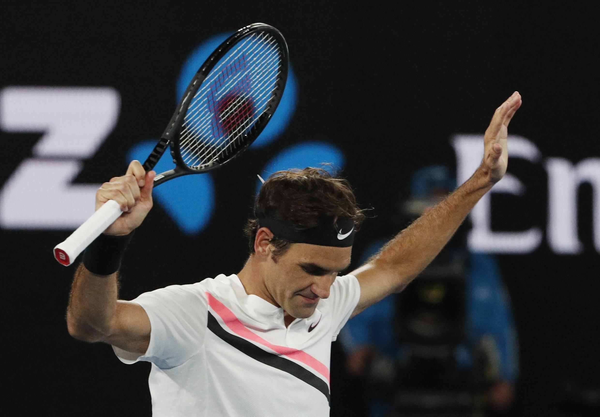 Roger Federer won the 2017 Australian Open after beating Rafael Nadal in the final.