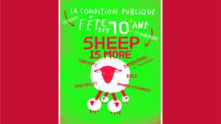 L'affiche de l'exposition «Sheep is more», du 7 octobre au 2 novembre 2014 à Roubaix.