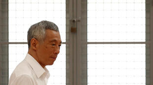 Le Premier ministre singapourien Lee Hsien Loong, ici le 30 juin 2020 (illustration).