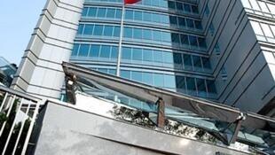 中國外交部駐港公署大樓資料圖片