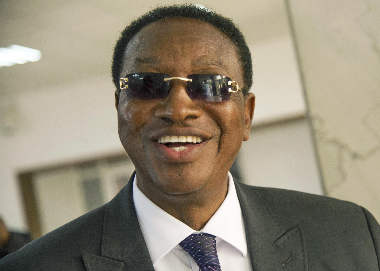 Waziri mkuu mpya wa DRC Bruno Tshibala, mjini Kinshasa Aprili 4, 2017