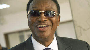 L'ancien Premier ministre congolais, Bruno Tshibala, le 4 avril 2017 à Kinshasa.