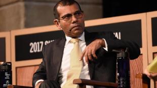 Mohamed Nasheed, ancien président et chef de l'opposition en exil, a finalement renoncé à se présenter à la prochaine élection présidentielle (photo d'archives)