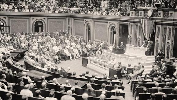 کنگره آمریکا در سال ١٩١٩