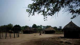 Localidade da Gorongosa, área onde estaria a vala comum, no centro de Moçambique.
