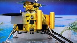 网上公布的嫦娥四号模型图