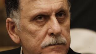 Fayez el-Sarraj, le Premier ministre libyen (Gouvernement d'union nationale), le 11 janvier 2020 à Rome.