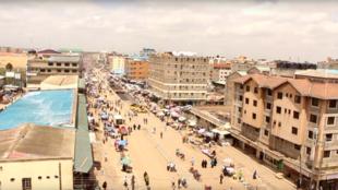 Mtaa wa kibiashara wa Eastleigh jijini Nairobi.