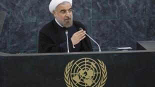 O presidente iraniano Hassan Rouhani fez um dos discursos mais esperados da Assembleia geral das Nações Unidas