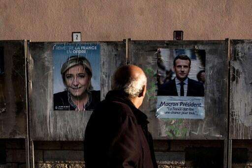 Marine Le Pen da Emmanuel Macron zasu fafata zagaye na 2 a zaben Faransa