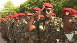 Des «bérets rouges» de l'armée malienne.