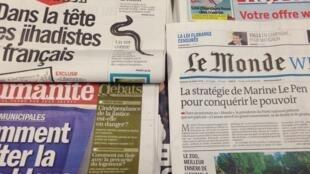 Capas dos jornais 28/03/2014