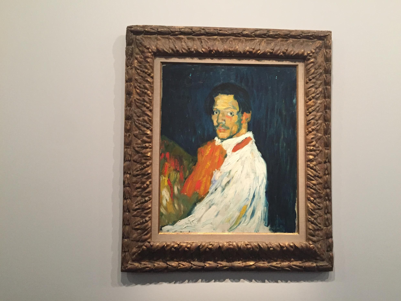 Yo Picasso, Paris, 1901.