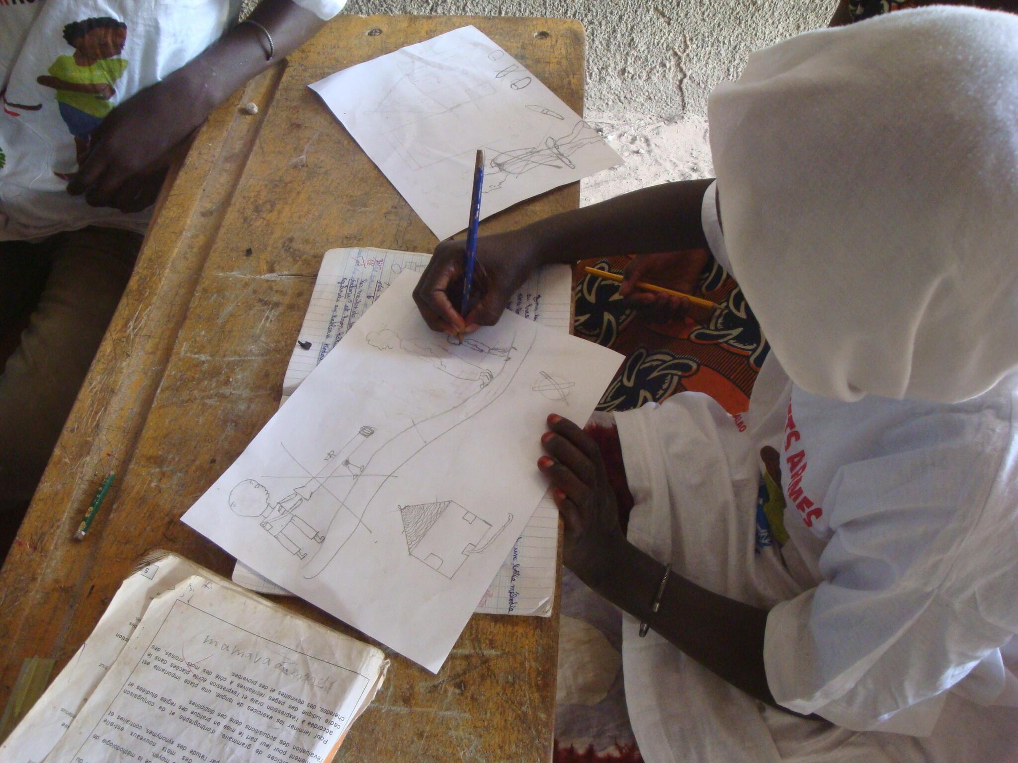 wata daliba yar sakandre a yankin Casamance na Senegal