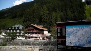 Le coronavirus a trouvé un terrain fertile dans les bars et restaurants bondés dans la station de ski d'Ischgl au Tyrol en février et début mars. Photo prise le 23 juillet 2020.