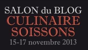 Cartaz da 6ª edição do Salão de Blogs de cozinha.