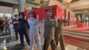 Jana'izar Shugaban Tunisia Muhammad Essebsi