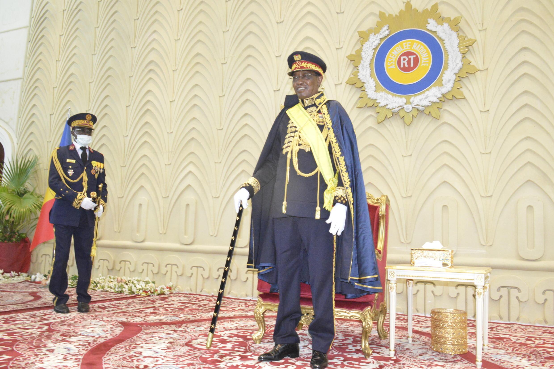 Idriss Déby Itno recibe el título de Mariscal del Chad el 11 de agosto de 2020 en Yamena